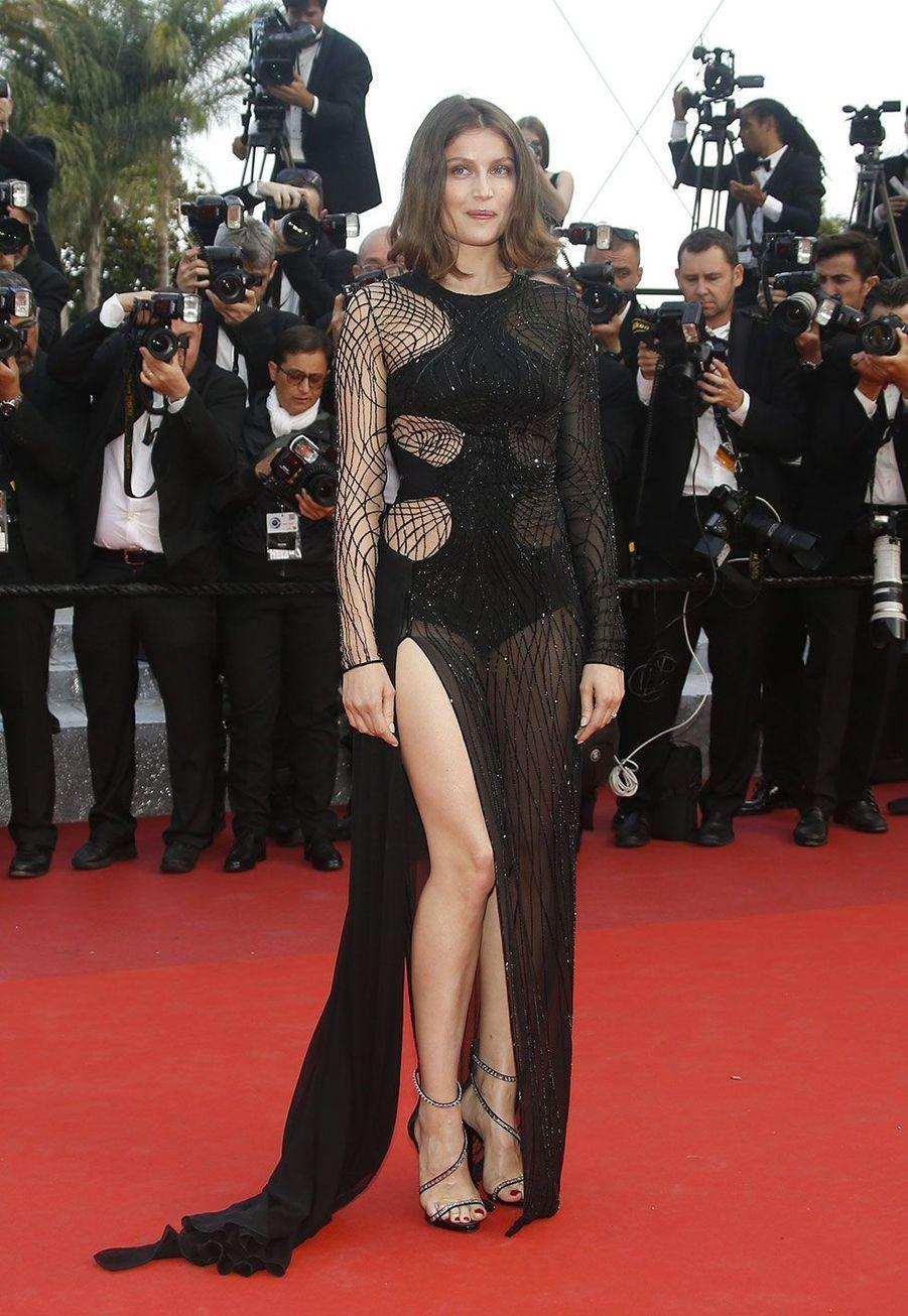 Laetitia Casta in Atelier Versace