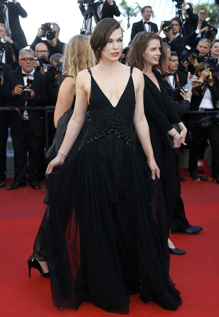 Milla Jovovich en Prada