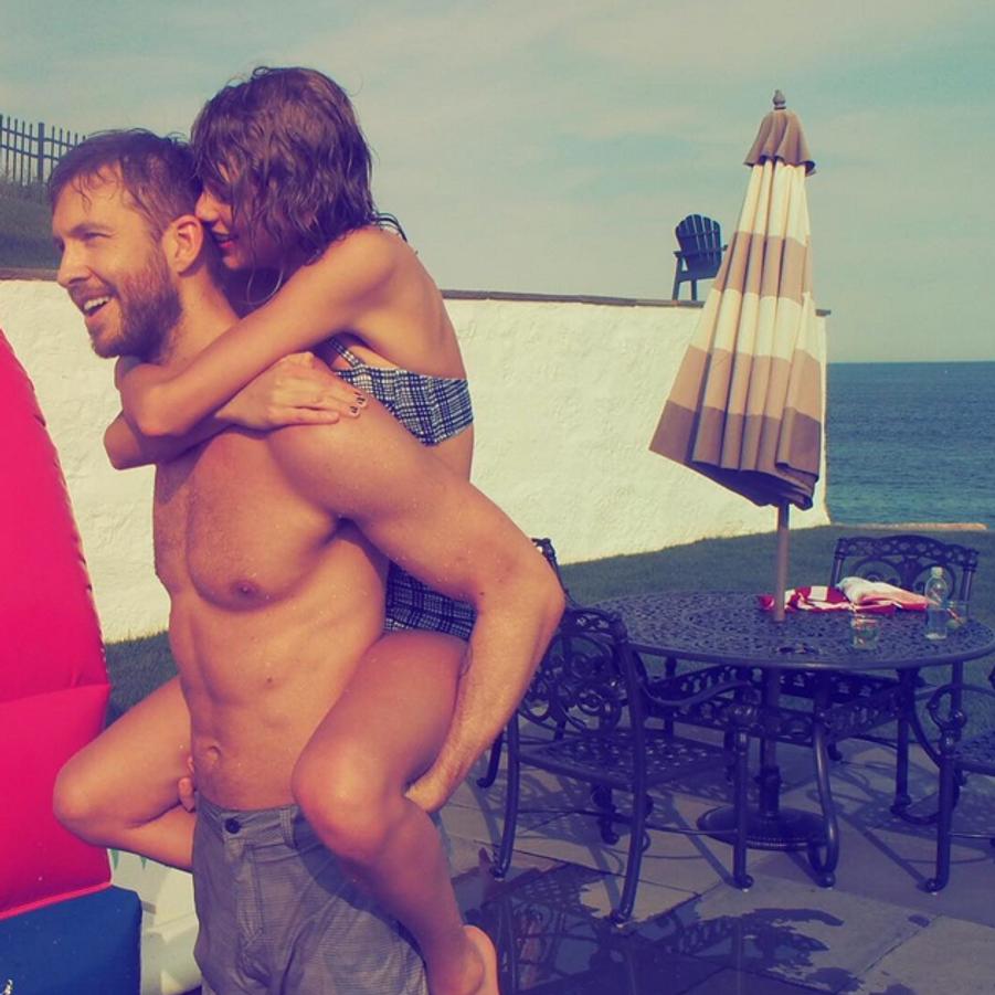 Calvin Harris, photo postée par Taylor Swift pour la fête du 4 juillet