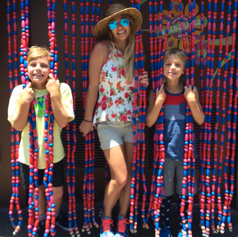Photo postée par Britney Spears pour la fête du 4 juillet