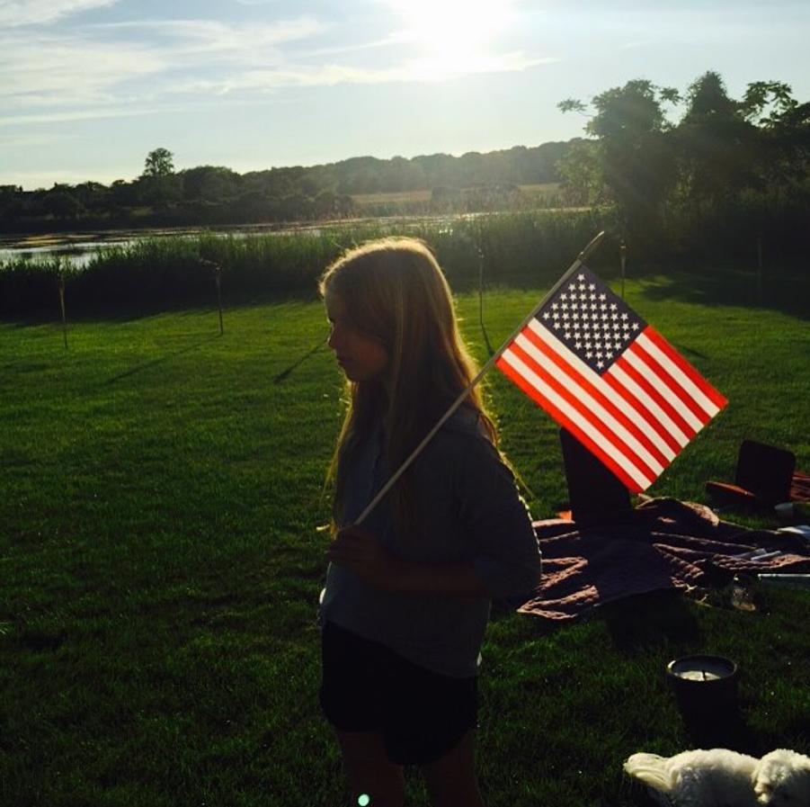 Photo postée par Gwyneth Paltrow pour la fête du 4 juillet