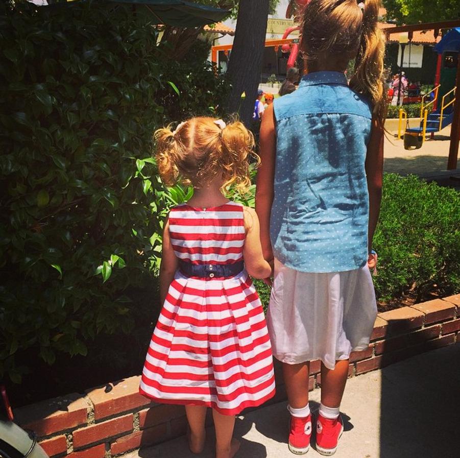 Photo postée par Jessica Alba pour la fête du 4 juillet