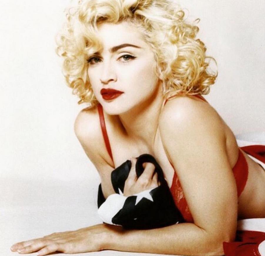 Photo postée par Madonna pour la fête du 4 juillet