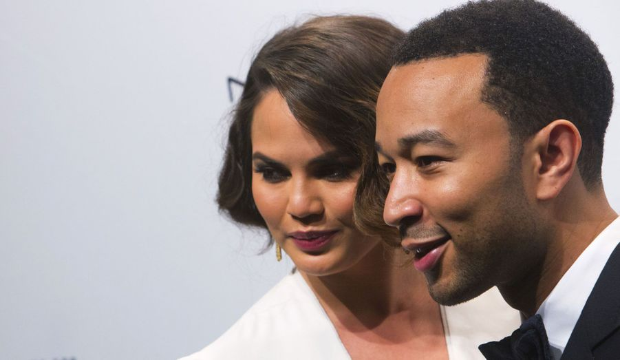 John Legend et sa fiancée Christine Teigen