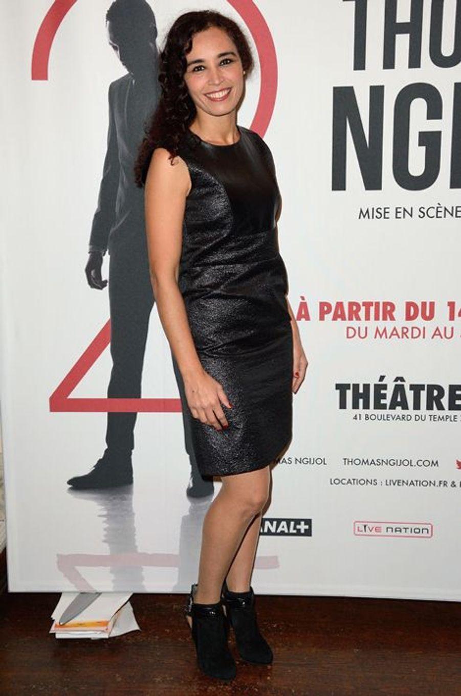 Aïda Touihri à Paris le 27 octobre 2014