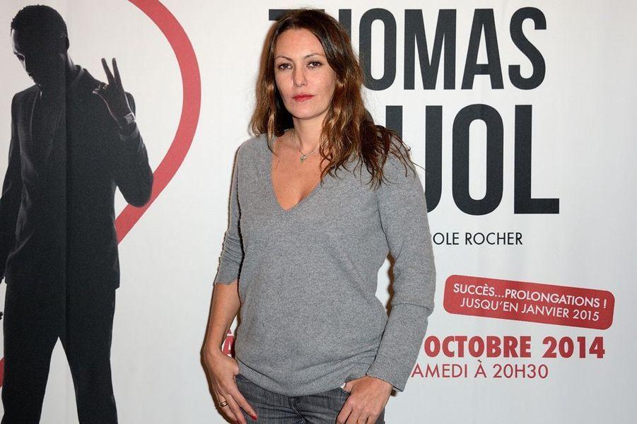 Karole Rocher à Paris le 27 octobre 2014