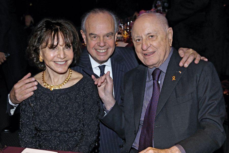 Monique Lang, Frédéric Mitterrand, Pierre Bergé