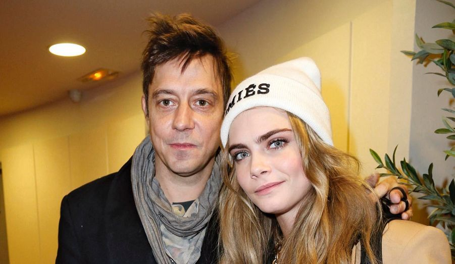 Jamie Hince (The Kills) et la top anglaise Cara Delevingne.