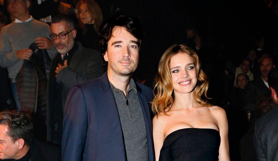 Le couple phare de la soirée: Natalia Vodianova et son fiancé, Antoine Arnault.