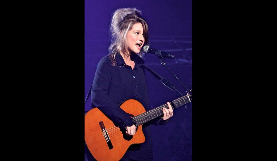 Selah Sue, 23 ans, chanteuse belge, célèbre avec deux tubes, « Mommy » et « Black Part Love ».