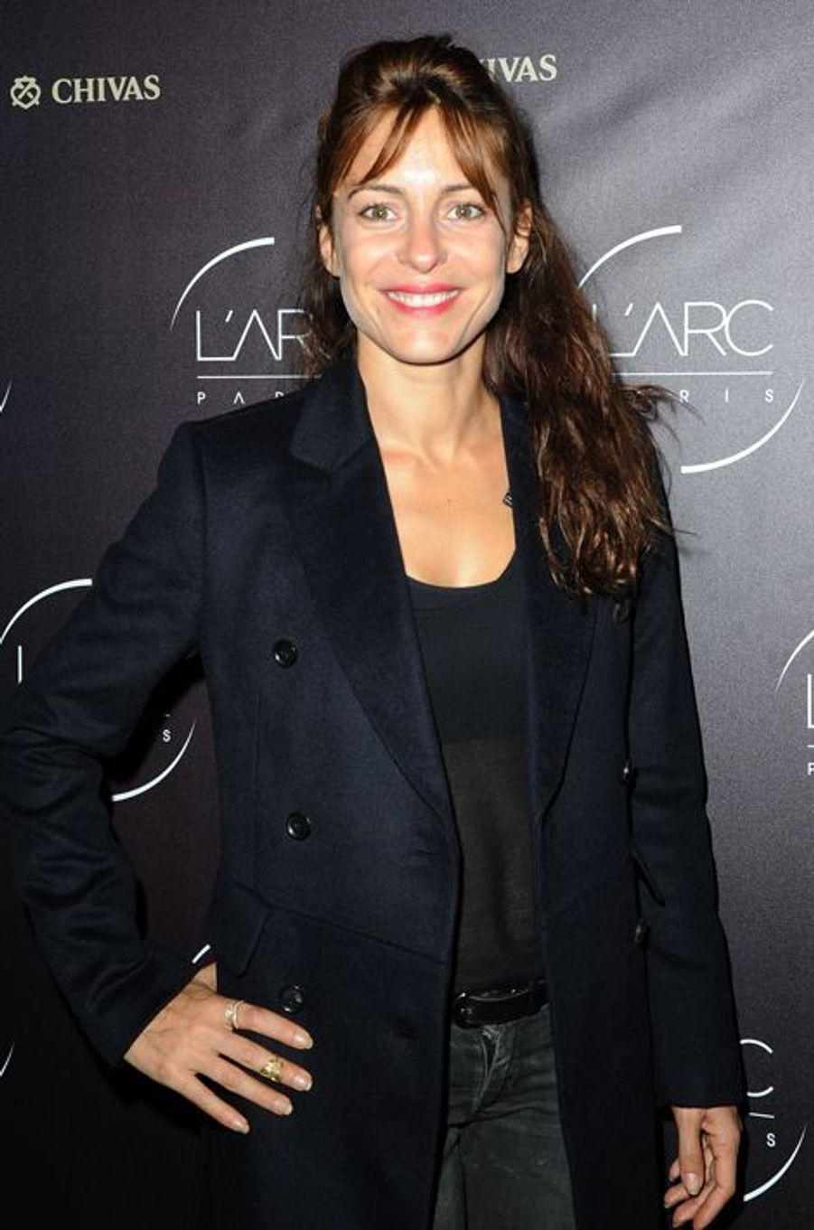 Audrey Dana à l'inauguration de l'Arc Paris le jeudi 2 octobre 2014
