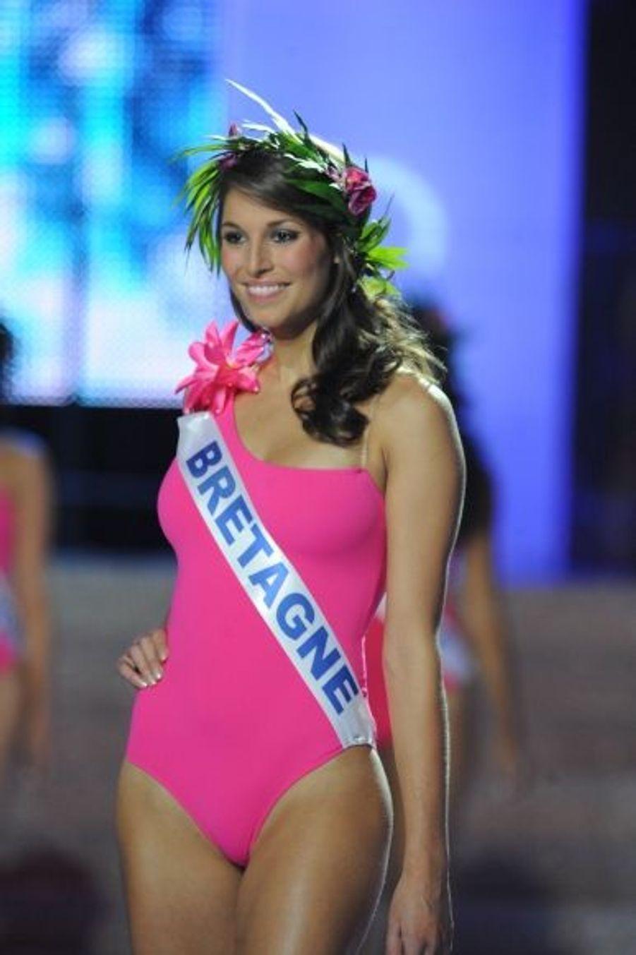 Miss Bretagne, Laury Thilleman, miss France