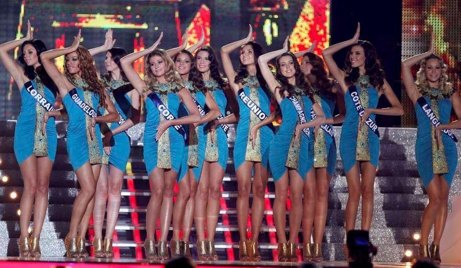 Retrouvez les plus belles photos de la cérémonie des Miss France 2012 qui a désigné comme chaque année notre reine de beauté. C'est la belle Miss Alsace, Delphine Wespiser qui a été couronnée.