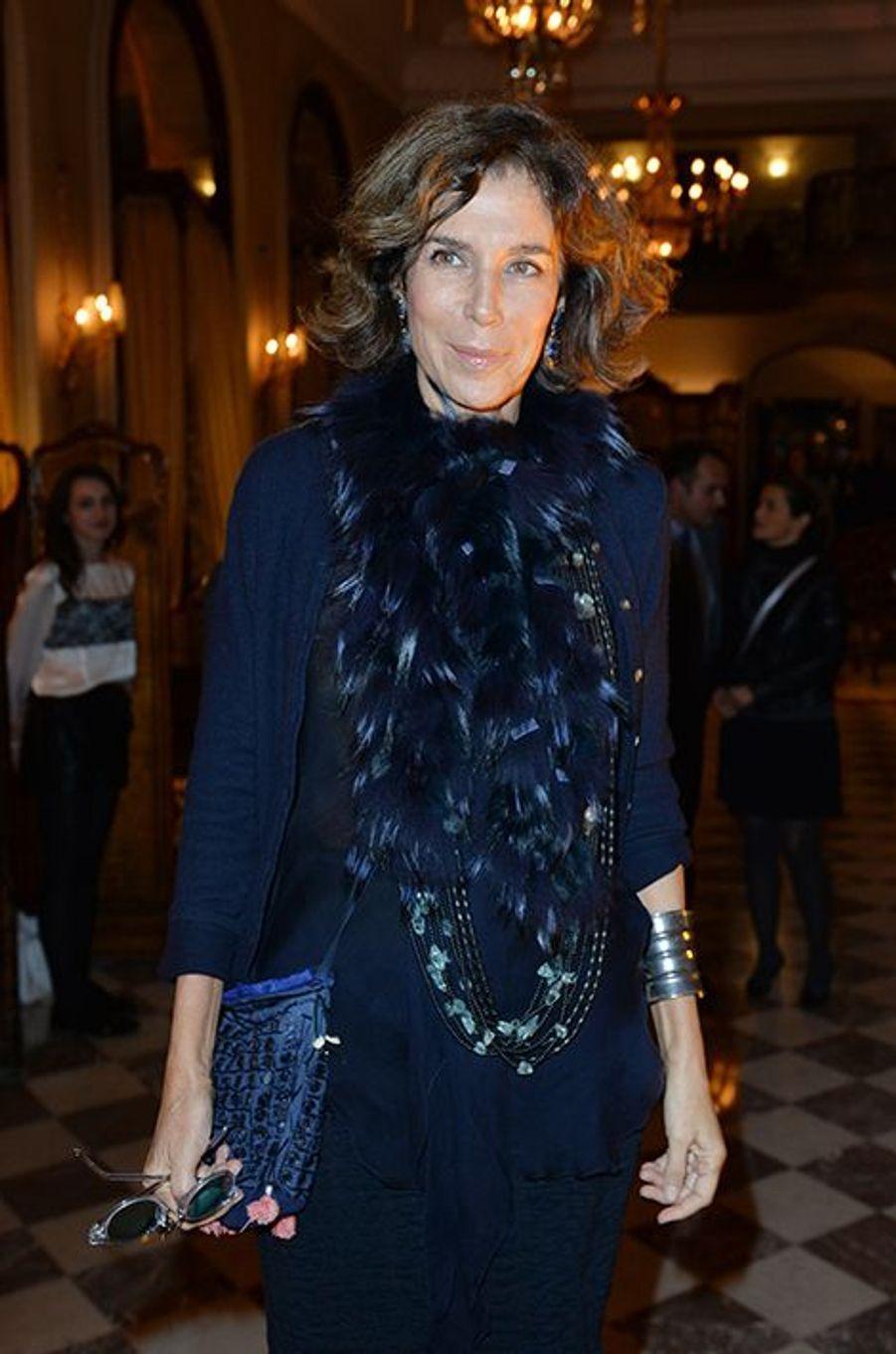 Christine Orban à l'hôtel Régina de Paris le lundi 13 octobre 2014