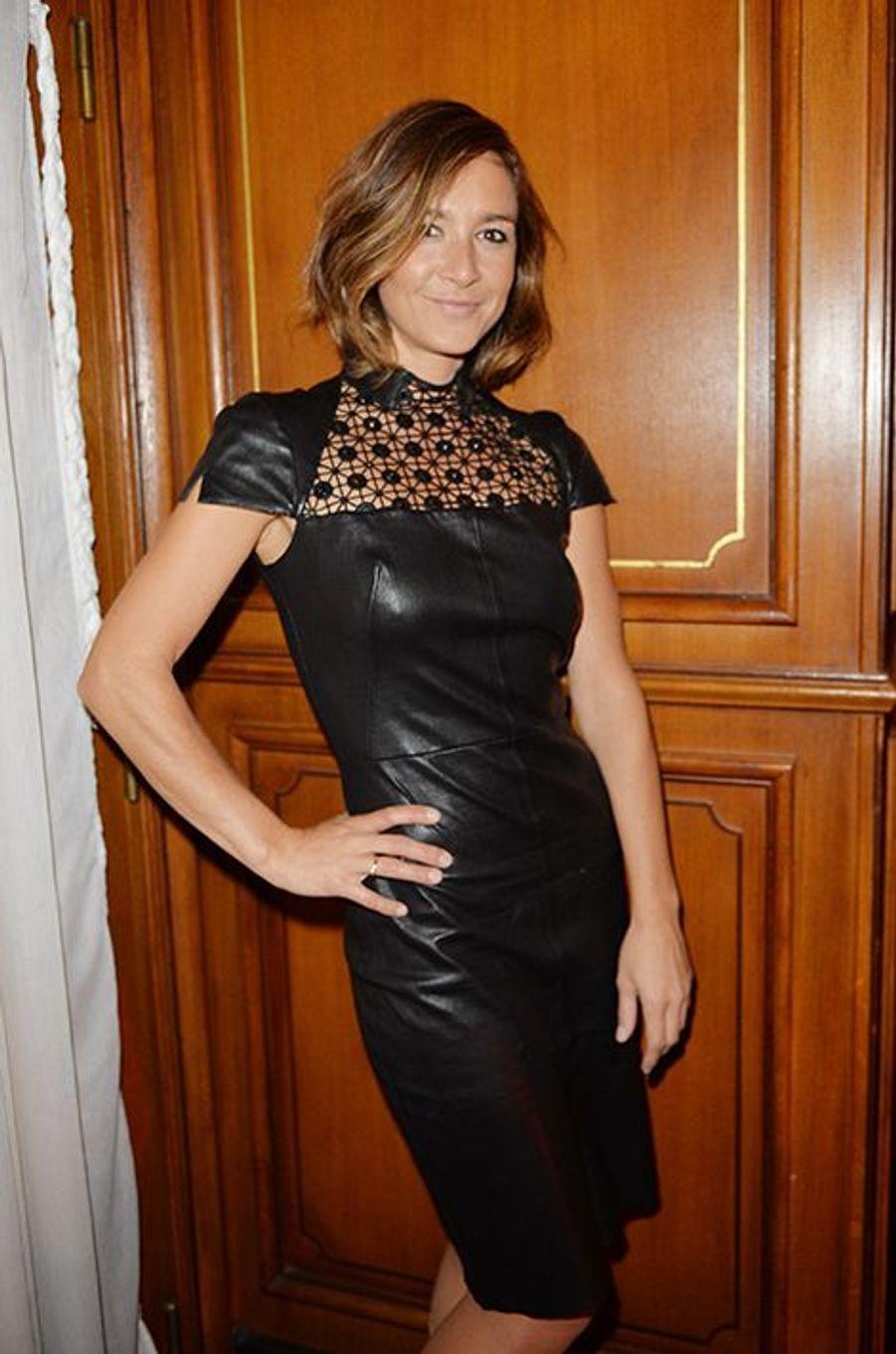 Emmanuelle Boidron à l'hôtel Régina de Paris le lundi 13 octobre 2014