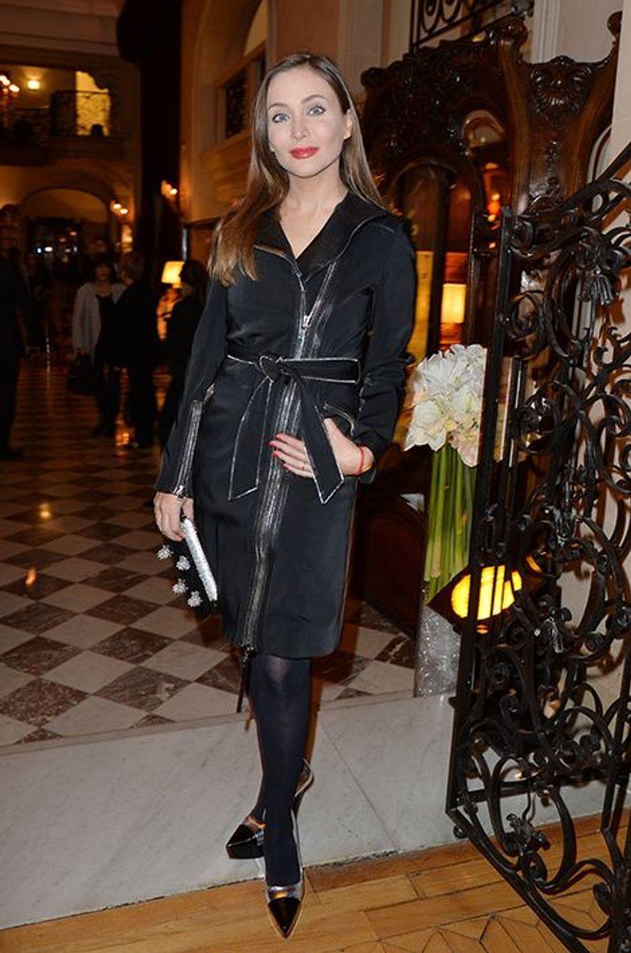 Isabella Orsini à l'hôtel Régina de Paris le lundi 13 octobre 2014