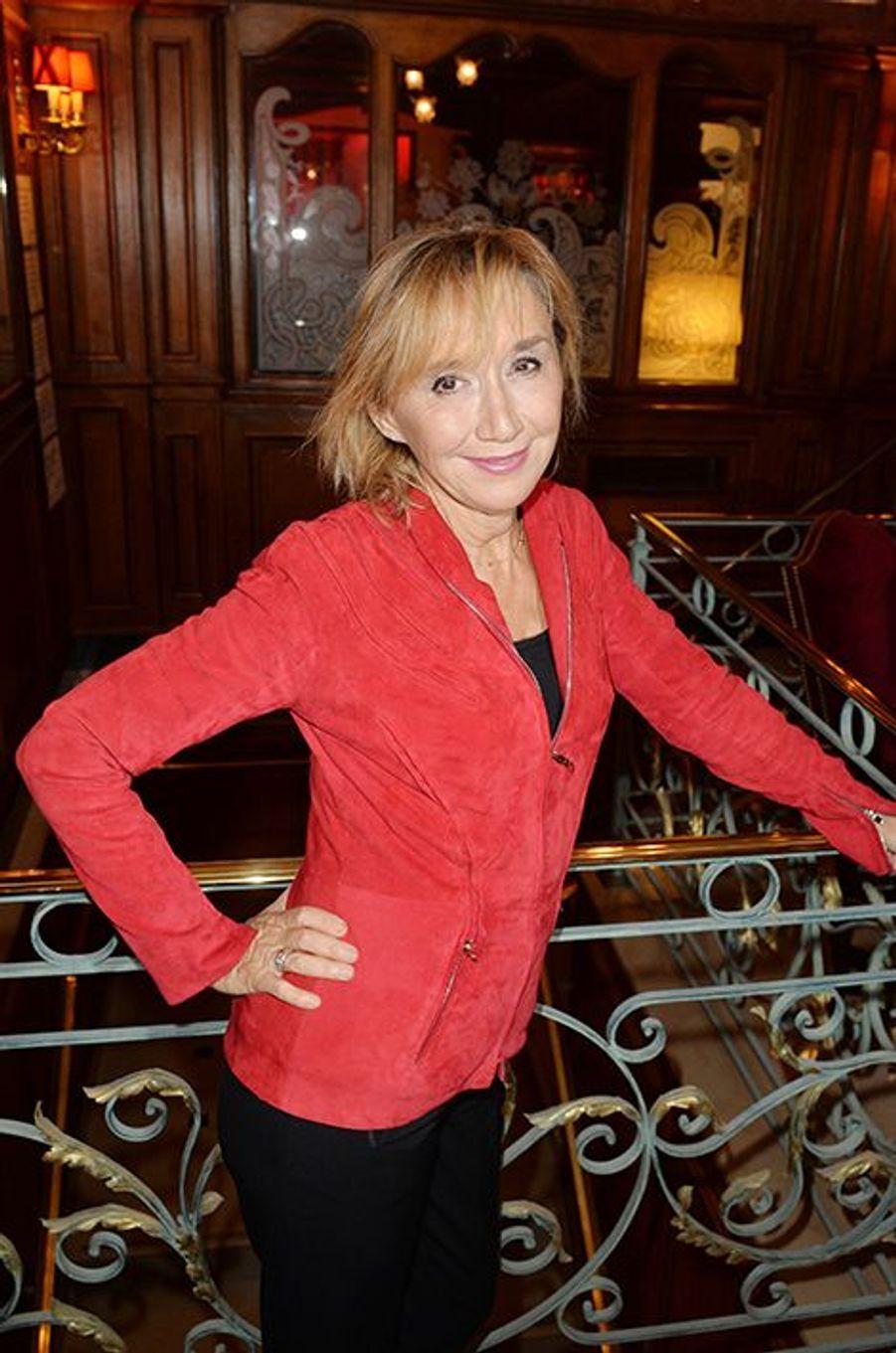 Marie-Anne Chazel à l'hôtel Régina de Paris le lundi 13 octobre 2014