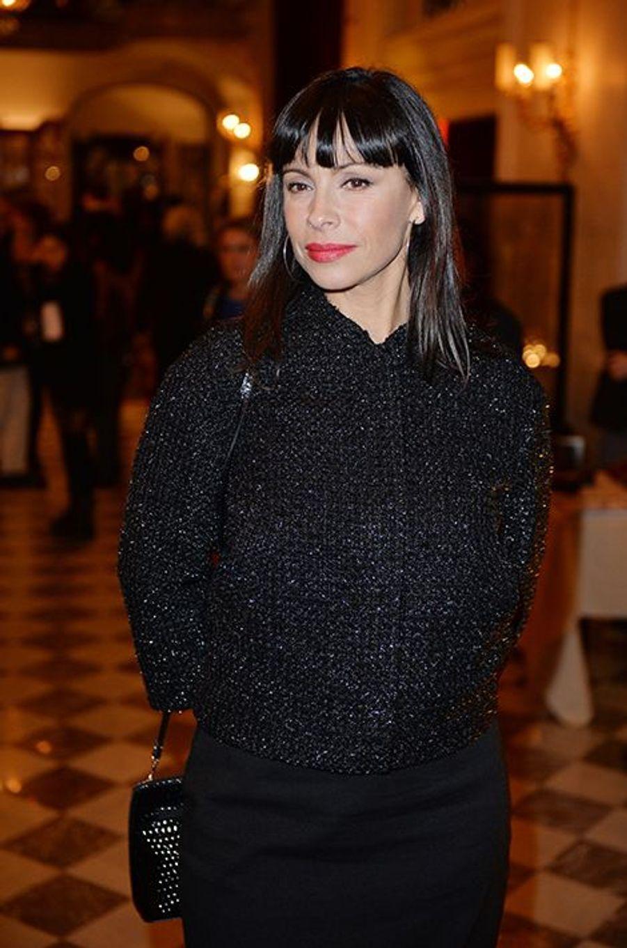 Mathilda May à l'hôtel Régina de Paris le lundi 13 octobre 2014