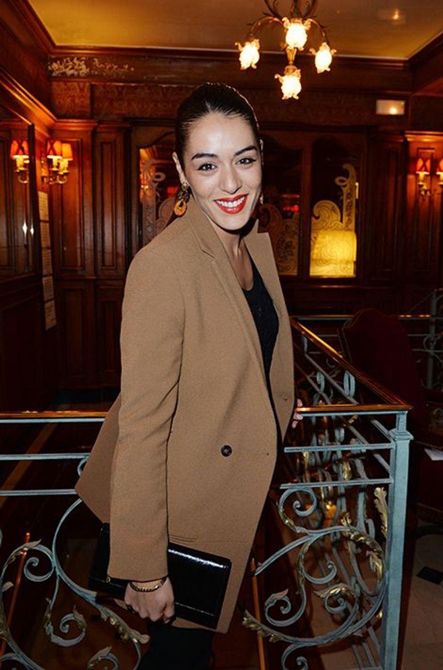 Sofia Essaïdi à l'hôtel Régina de Paris le lundi 13 octobre 2014