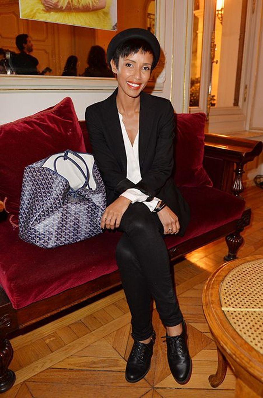 Sonia Rolland à l'hôtel Régina de Paris le lundi 13 octobre 2014