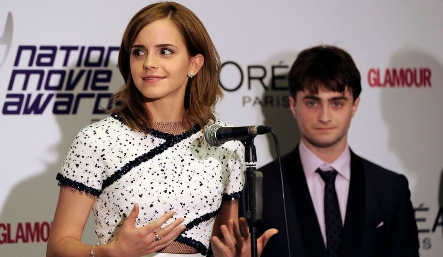 En revanche, trois membres du casting d'Harry Potter ont fait le déplacement. Daniel Radcliffe, Emma Watson et Bonnie Wright ont reçu des mains d'Orlando Bloom le prix du meilleur film familial.
