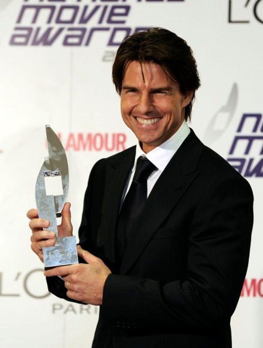 Tom Cruise a reçu le prix d'icône du cinéma des mains de Gwyneth Paltrow, une récompense qui honore l'ensemble de sa carrière.