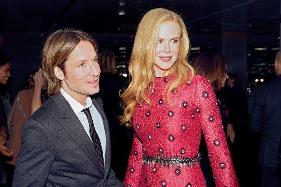 Nicole Kidman et son mari, le chanteur Keith Urban.