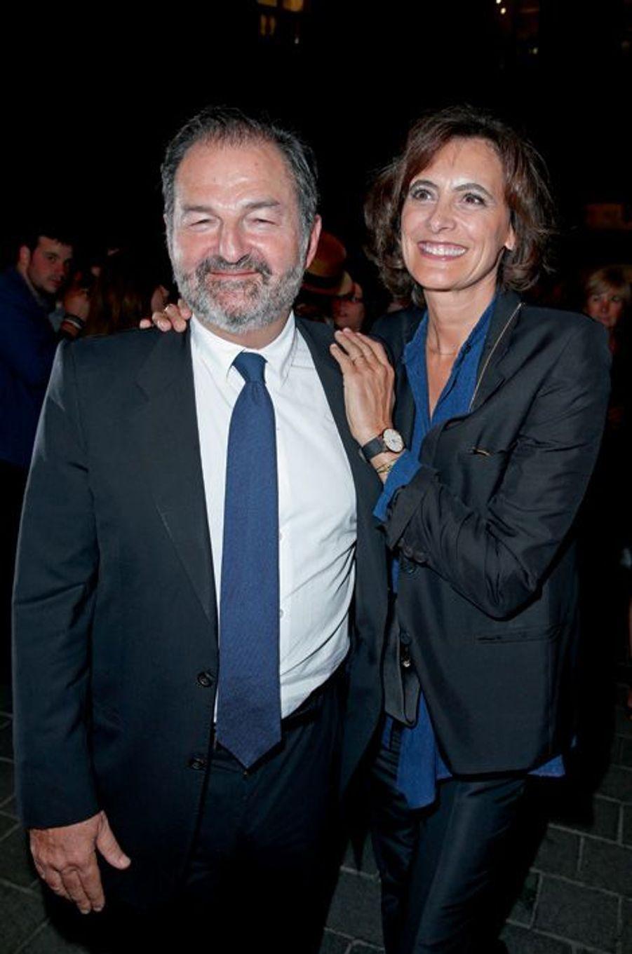 Denis Olivennes et Inès de la Fressange.