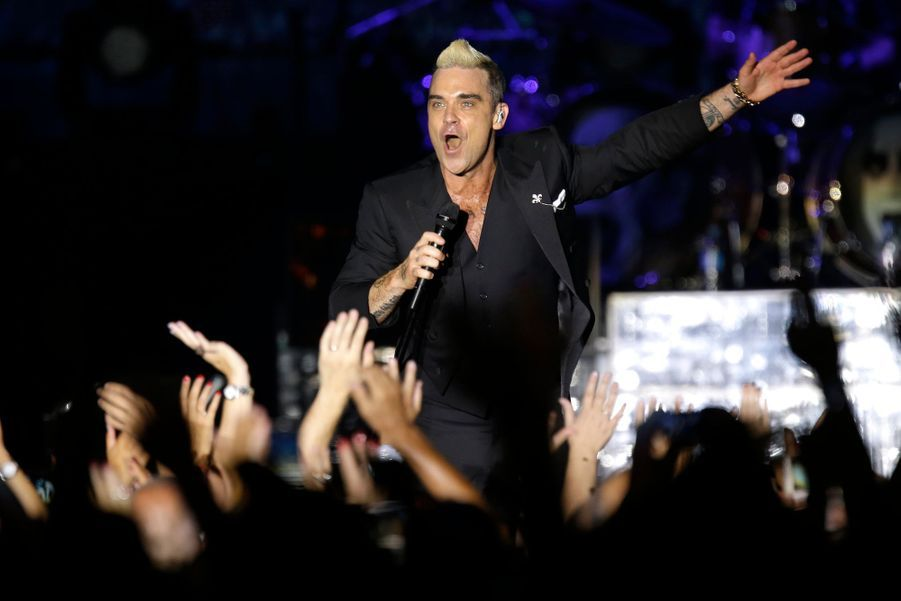 Robbie Williams, le passionné