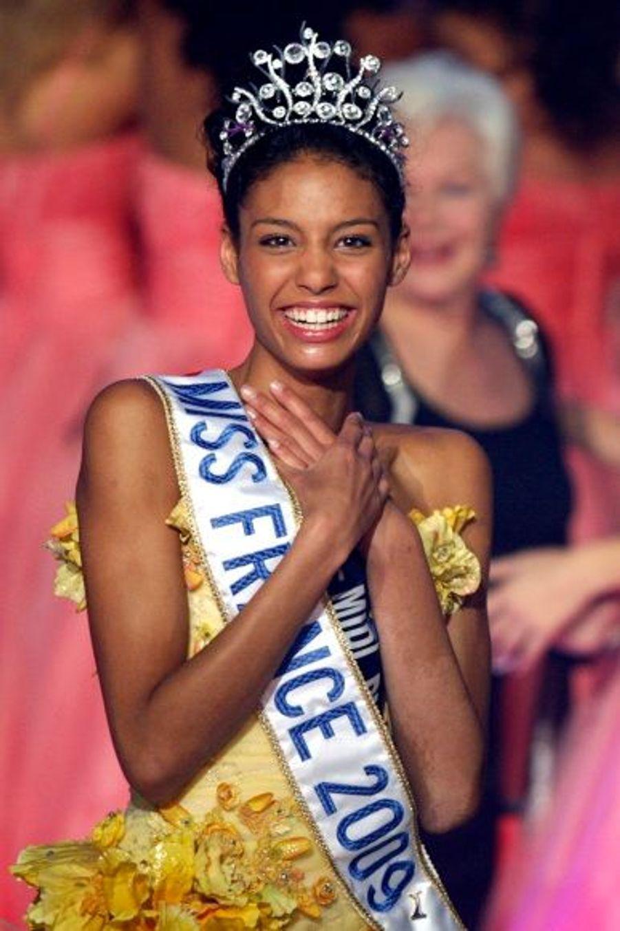Chloé Mortaud, Miss France 2009