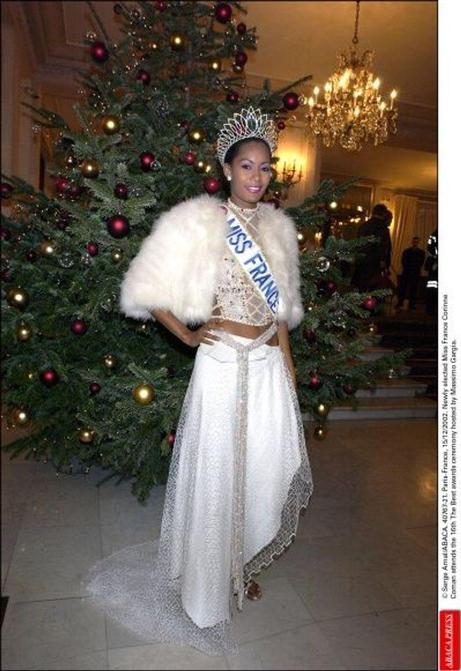 Corinne Coman, Miss France 2003