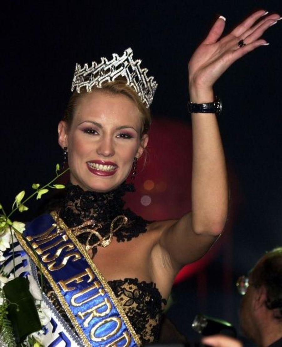 Elodie Gossuin, Miss France 2001