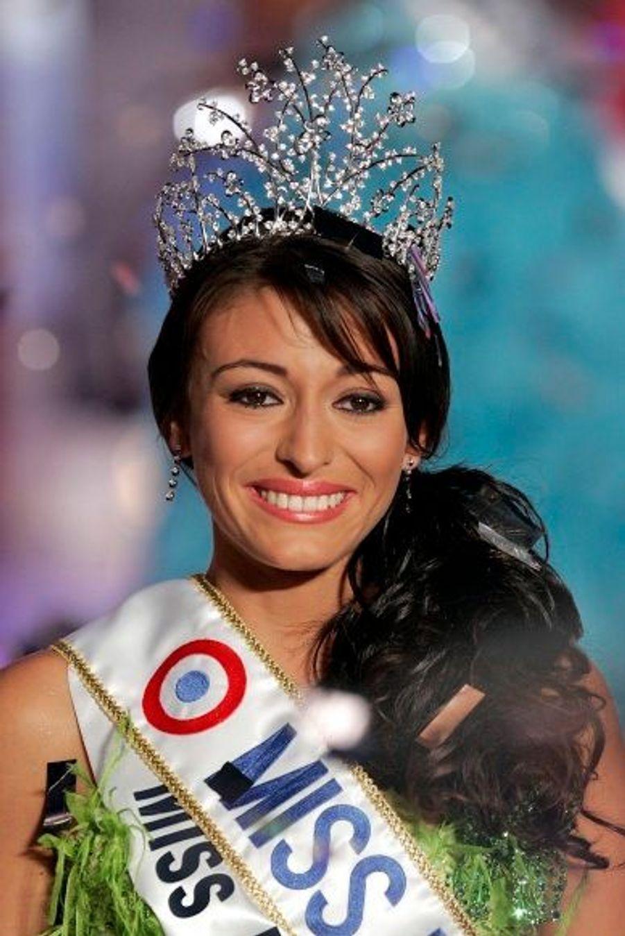 Rachel Legrain, Miss France 2007
