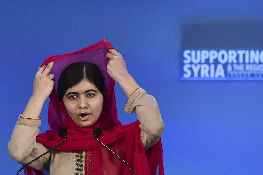 7. Malala Yousafzai