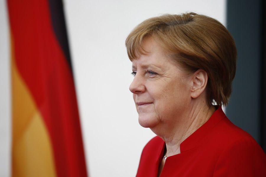 8. Angela Merkel