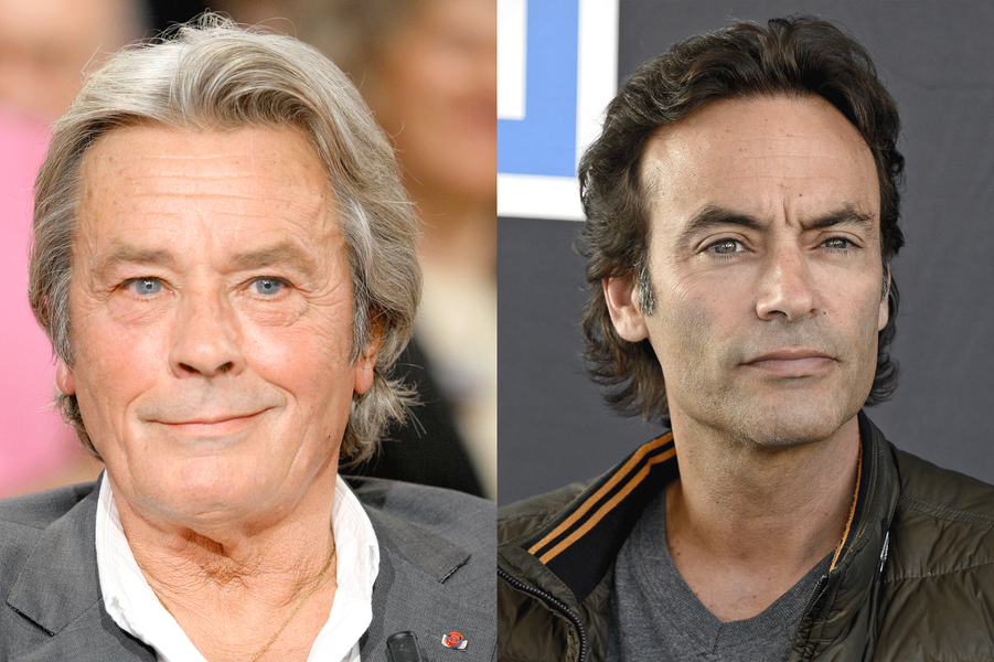 Alain et Anthony Delon
