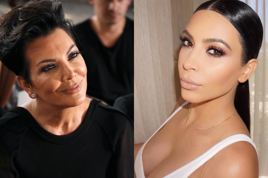 Kris Jenner et Kim Kardashian