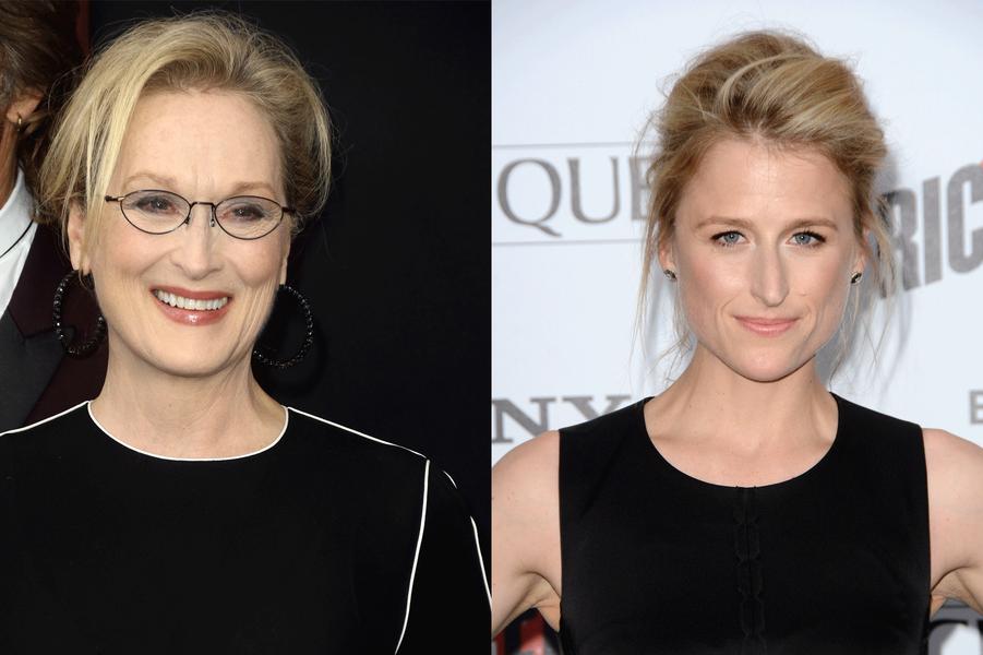 Mamie Gummer et Meryl Streep