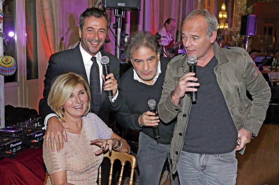 Catherine Madar, Bernard Montiel, Raphaël Mezrahi, Laurent Baffie