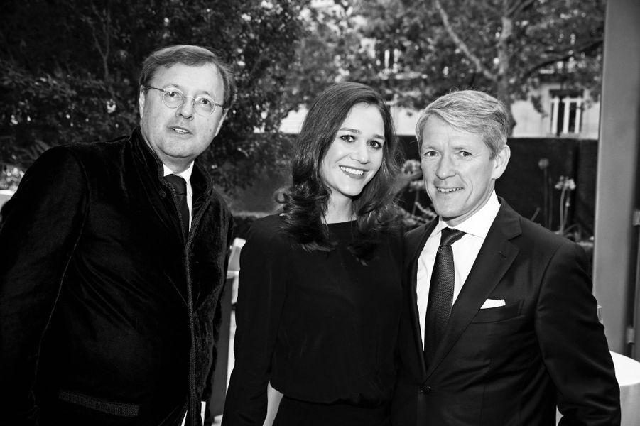 Claude Hugot (Renault), Julia et Peter Reus.