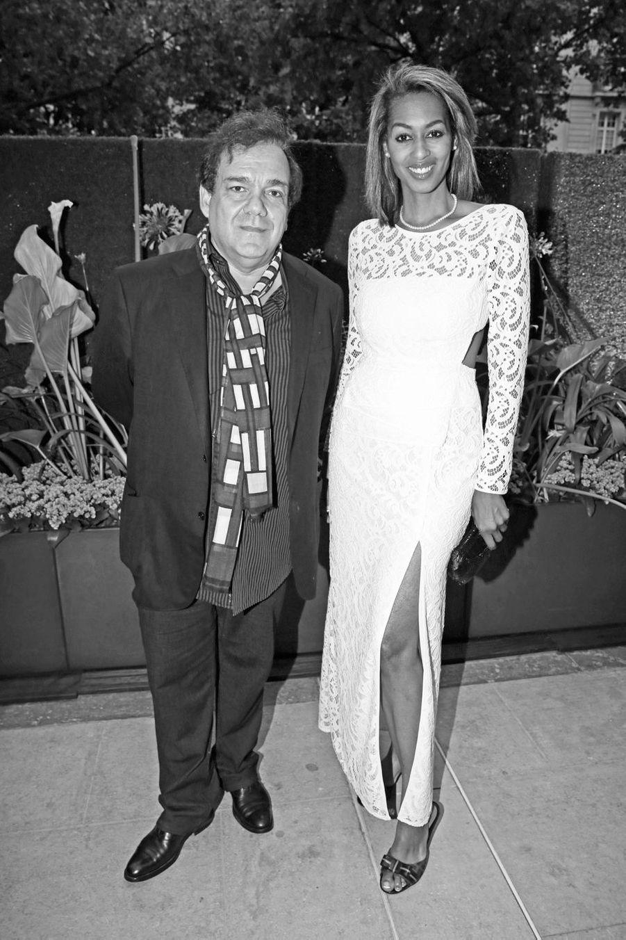 Didier Bourdon et sa femme, Marie-Sandra.