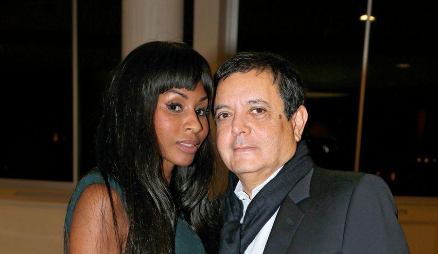 La danseuse et chorégraphe Mia Frye et Edouard Nahum.