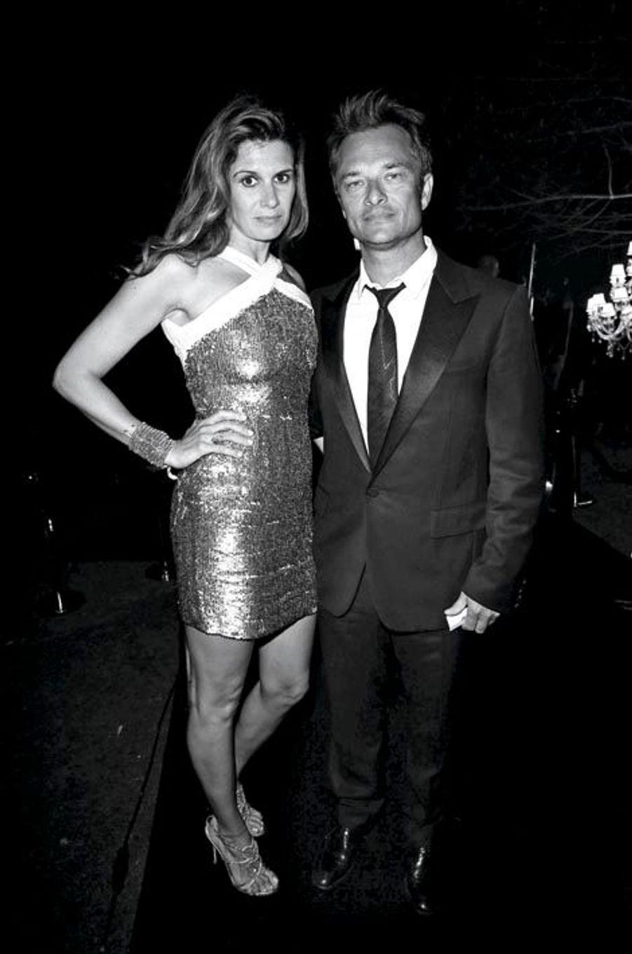 Alexandra Pastor et David Hallyday