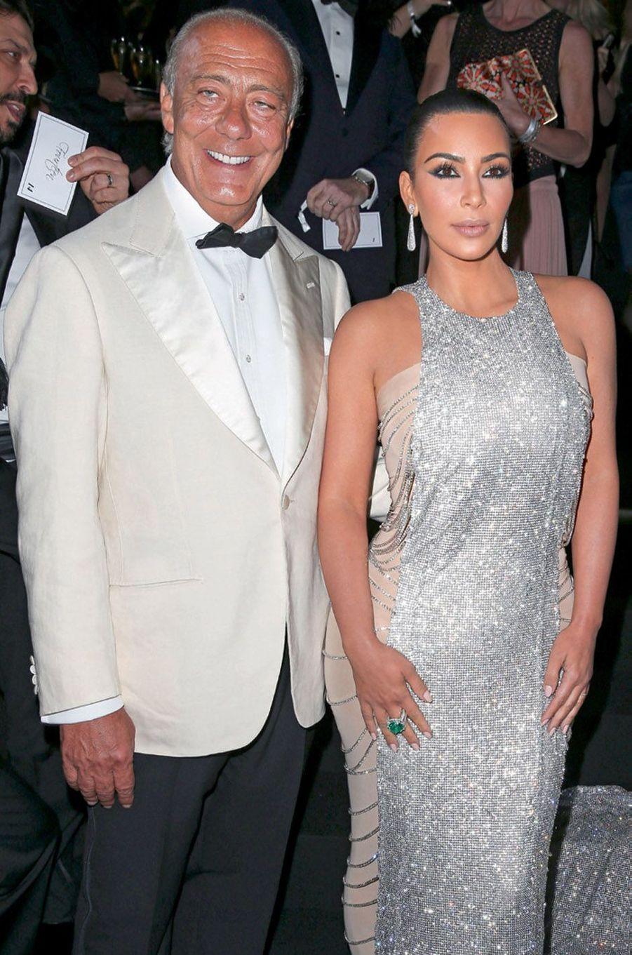 Fawaz Gruosi, Kim Kardashian.