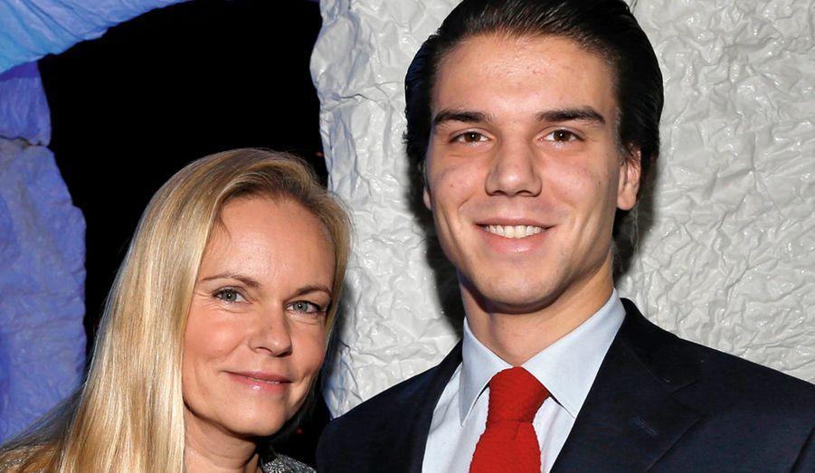 Constance de Bourbon-Parme et son fils Amaury.
