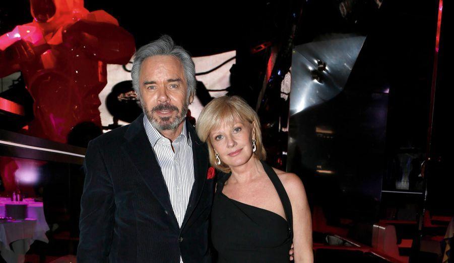Elisa Servier et son compagnon, Pascal Cronvac.