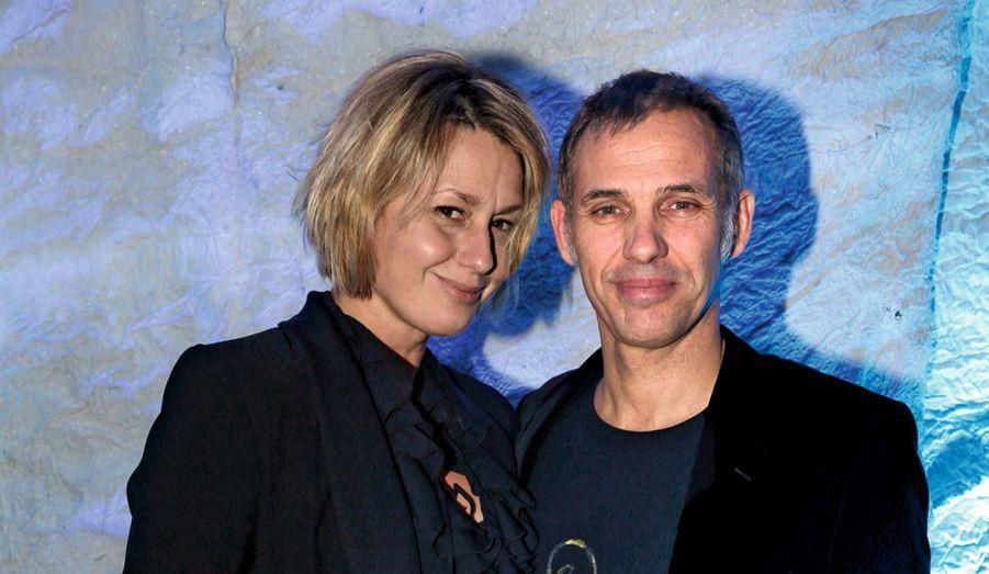 Luana et Paul Belmondo. Elle fait un carton avec « A table avec Luana ».