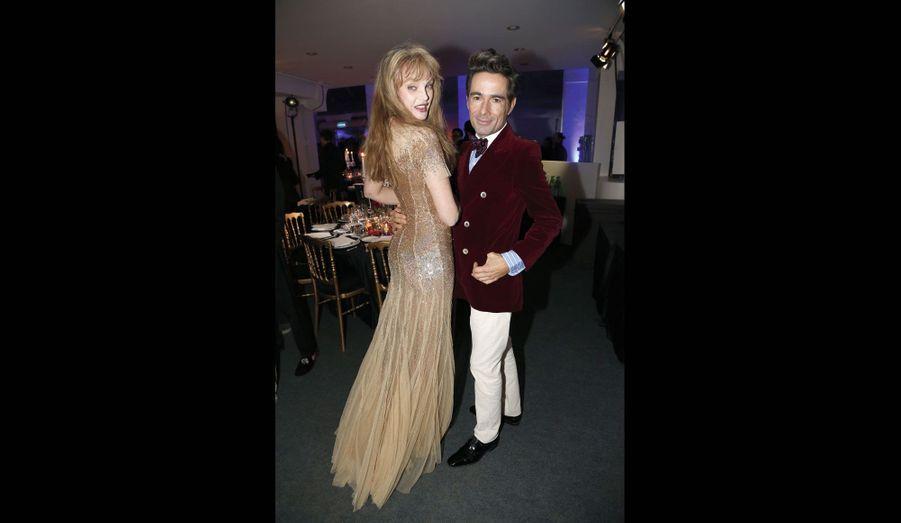 Ariel Dombasle et Vincent Darré