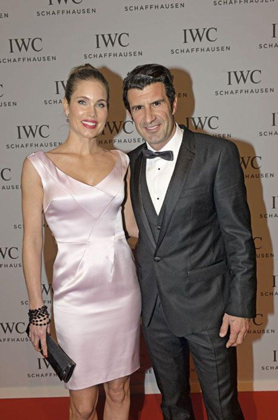 Helen et Luis Figo