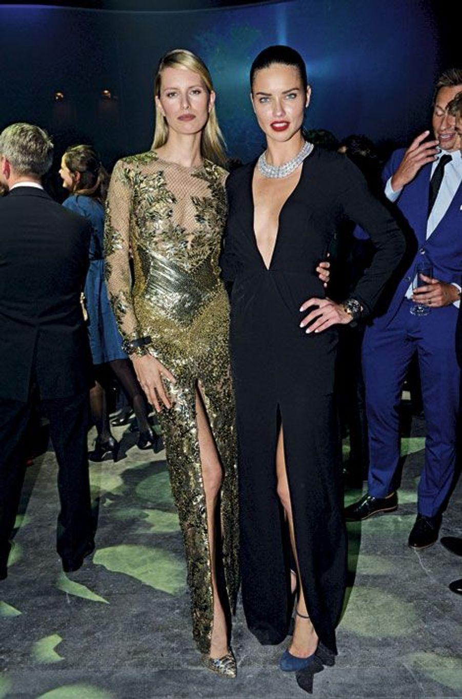 Karolina Kurkova et Adriana Lima